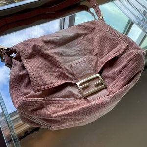 Vintage denim Fendi Mama Bag